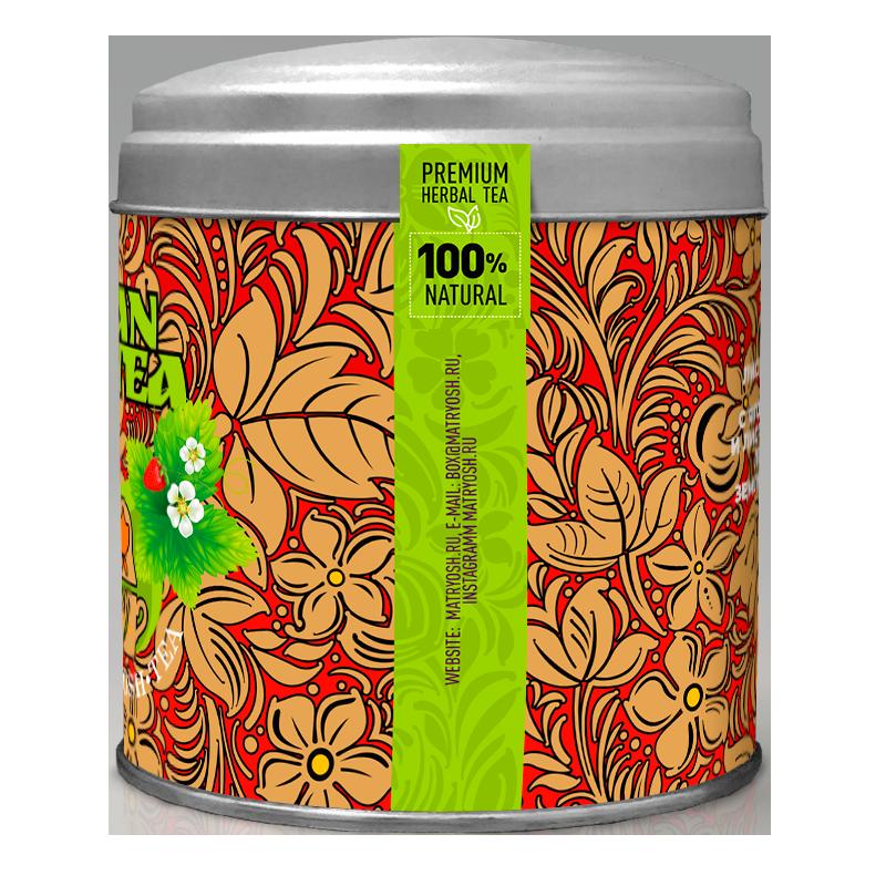 чай бонтон с ароматом земляники